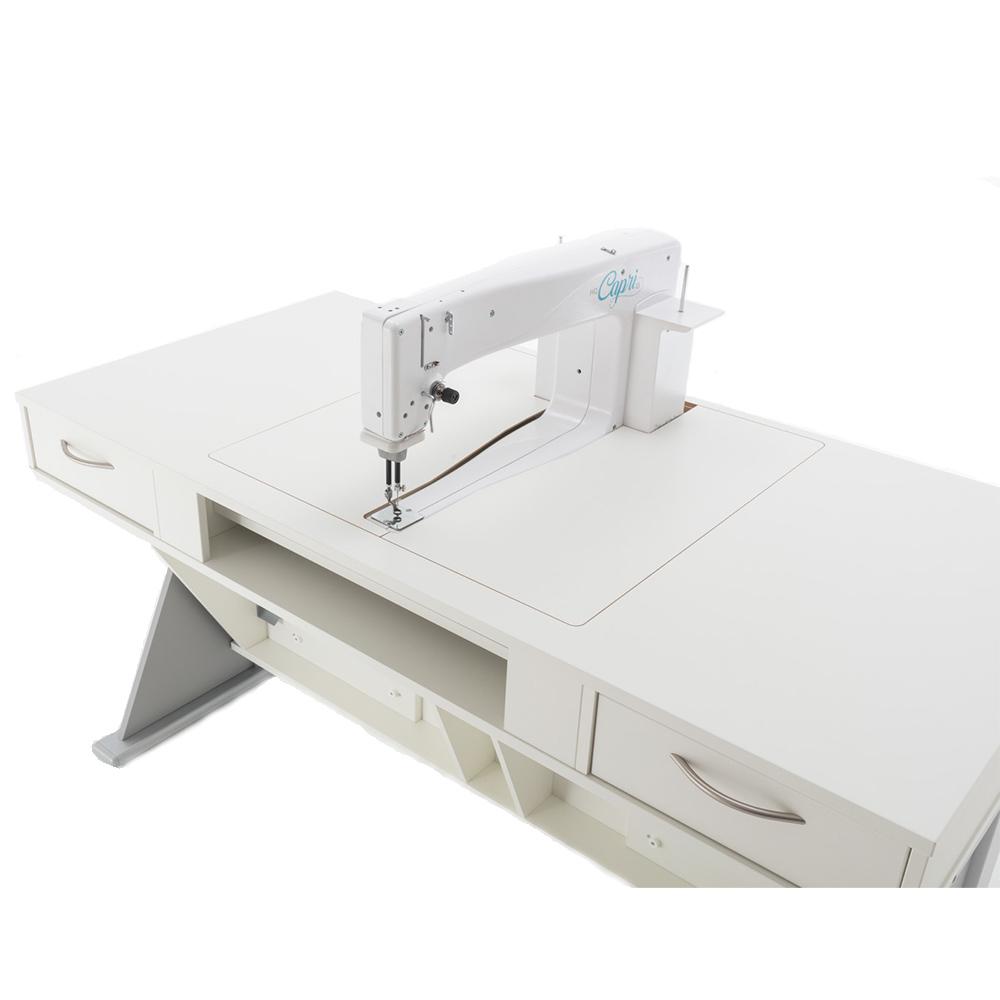 Der Q-TABLE longarm ist speziell für Longarm-Quiltmaschinen entwickelt worden.