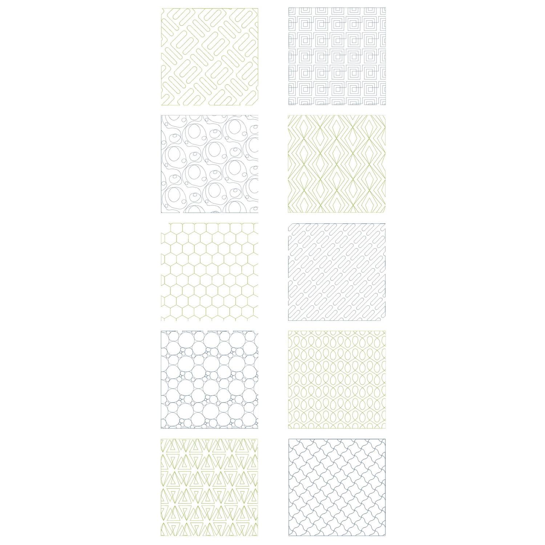 Eine Übersicht über die enthaltenen Muster.