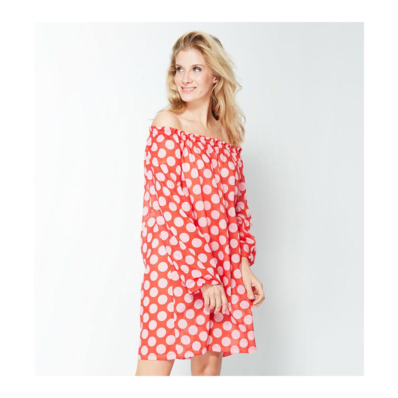 Luftiges Blusenkleid für warme Sommertage.