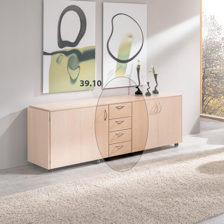 Hier ist die Möbelkombination Athen komplett zusammen geklappt.