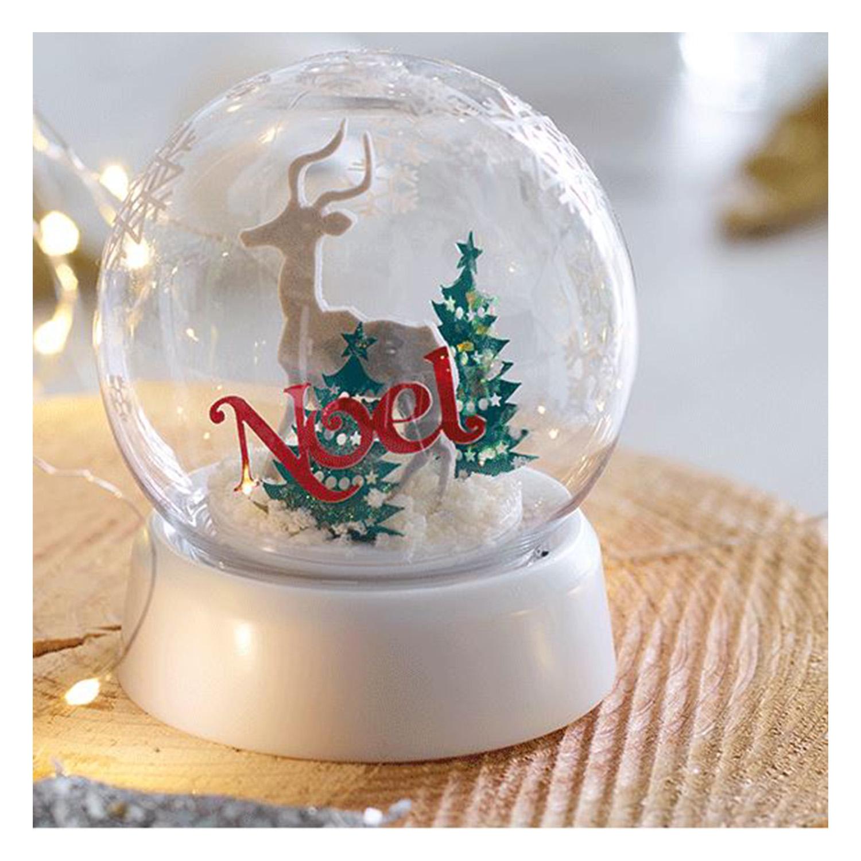 Die Schneekugel ist ein schönes Geschenk.
