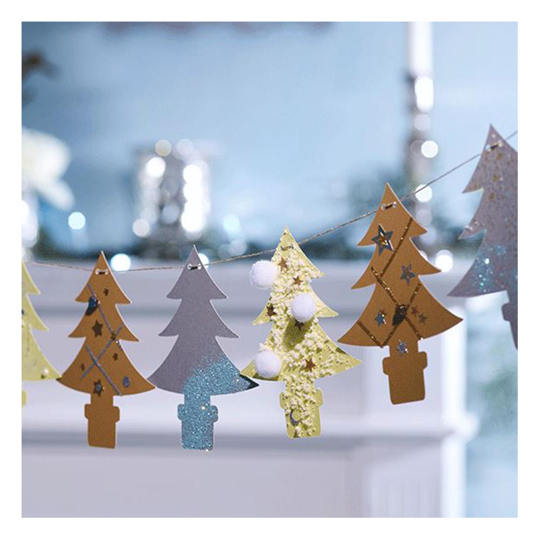 Auch eine dekorative Tannenbaumkette ist möglich.