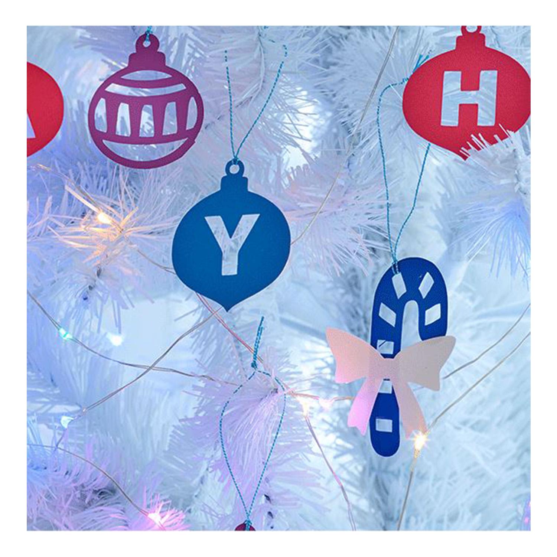 Weihnachtsanhänger für den Baum sind ganz einfach machbar.