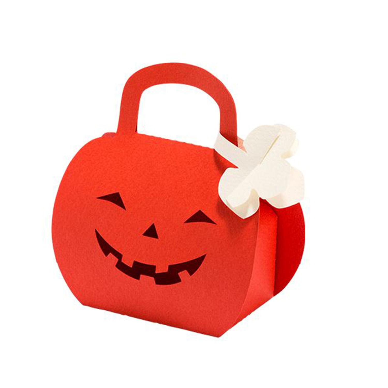 Auch für Halloween können stylische Geschenktaschen angefertigt werden.