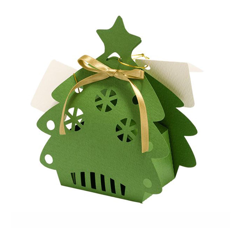 Diese Geschenkbox ist ideal um Weihnachtsgeschenke stilvoll zu verpacken.