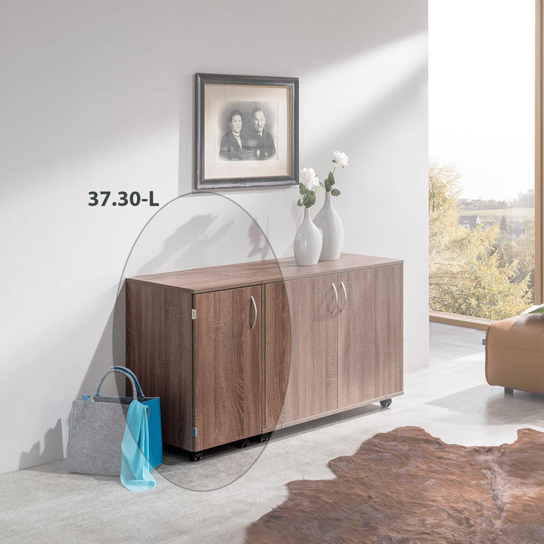 Hier ist die Möbelkombination Mailand in geschlossenem Zustand.