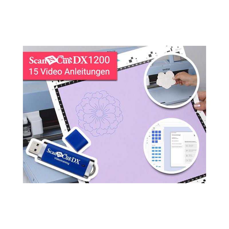 Ein USB-Stick mit 15 nützlichen Video-Anleitungen liegt dem Plotter gratis bei!