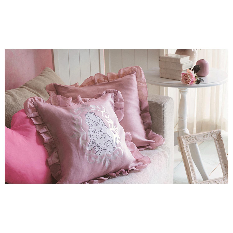 Dekorative Kissen für das Mädchenzimmer lassen sich mit diesen Motiven zaubern.