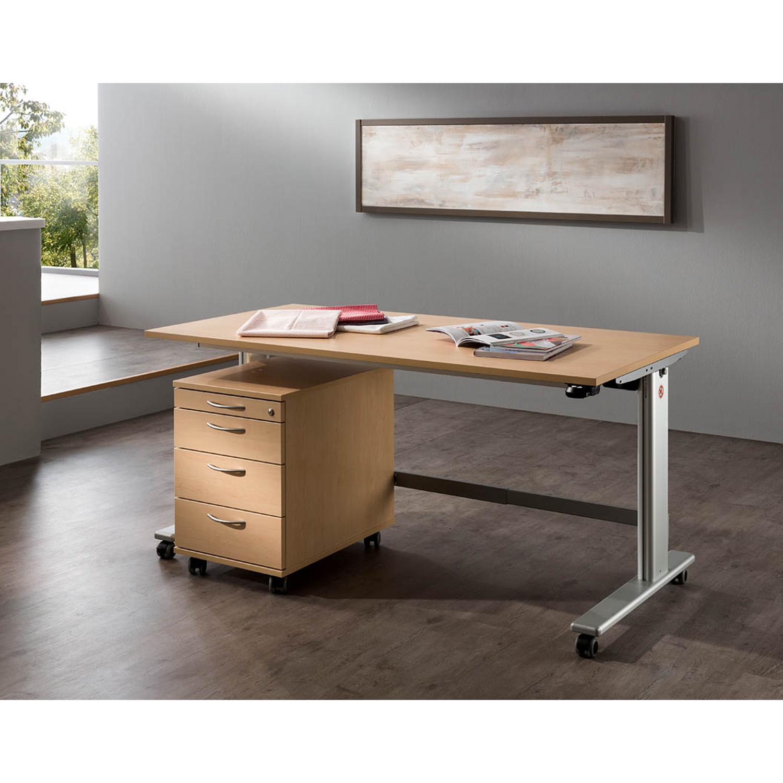 Eine ideale Ergänzung zum E-Table ist der Rollcontainer ROULER .