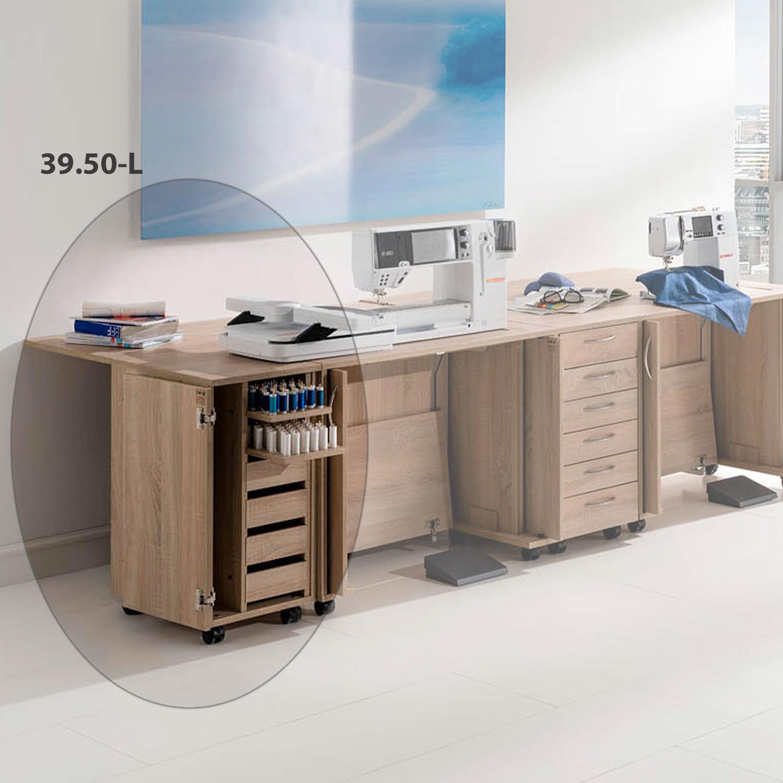 Die praktische Kombination Sarajewo bietet einen idealen Arbeitsplatz für zwei Maschinen.