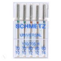 10 Schmetz Universal-Nadeln Stärke 90 für Nähmaschinen