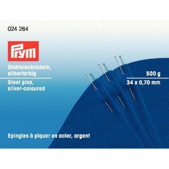 PRYM Stecknadeln silber Schachtel 500 g