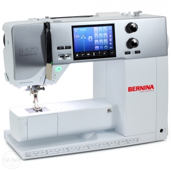 BERNINA B 570 QE Auslaufmodell Ausstellungsmaschine