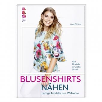 TOPP Blusenshirts nähen - Luftige Modelle aus Webware