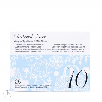 BROTHER Tattered Lace Pattern Collection 10 - 25 Designs