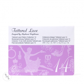 BROTHER Tattered Lace Pattern Collection 14 - 22 Designs