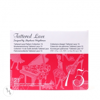 BROTHER Tattered Lace Pattern Collection 15 - 21 Designs