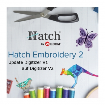 HATCH Update von Digitizer V1 auf Digitizer V2