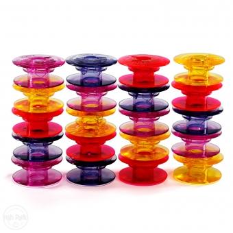 HUSQVARNA Spulen bunt Packung mit 20 Stück