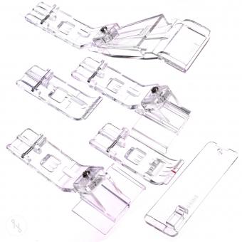 INSPIRA  Coverstitch Fuß-Set