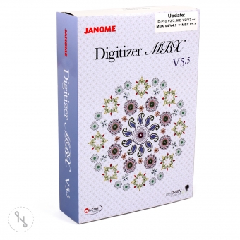 JANOME Upgrade Digitizer MBX V2-V4.5 auf Digitizer MBX V5.5