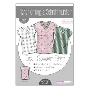 KI-BA-DOO Papierschnittmuster Shirt Eija
