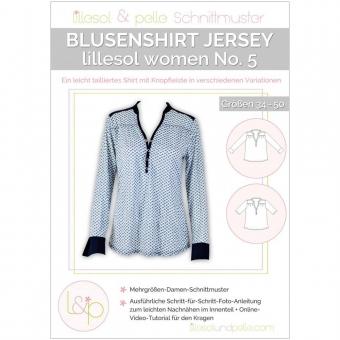 LILLESOL Women Papierschnittmuster No.5 Blusenshirt Jersey