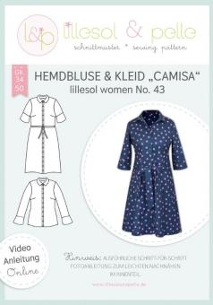 LILLESOL Women Papierschnittmuster No.43 Hemdbluse & Kleid Camisa