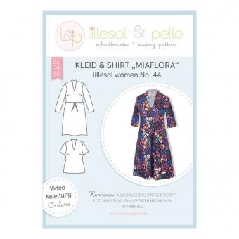LILLESOL Women Papierschnittmuster No. 44 Kleid & Shirt Miaflora