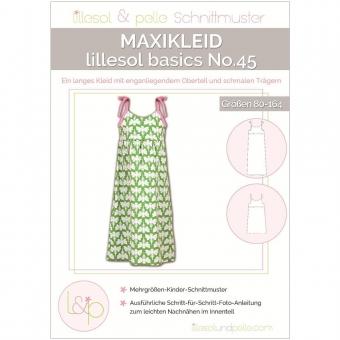 LILLESOL Basics Papierschnittmuster No.45 Maxikleid