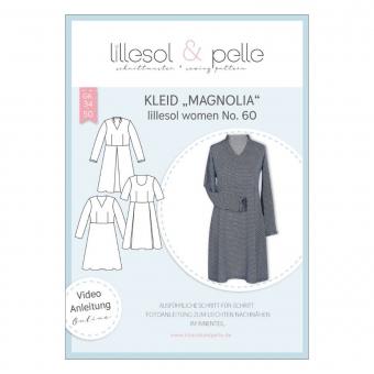 LILLESOL Women Papierschnittmuster No. 60 Kleid Magnolia