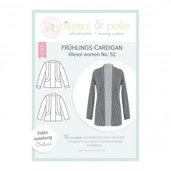 LILLESOL Women Papierschnittmuster No. 52 Frühlings-Cardigan