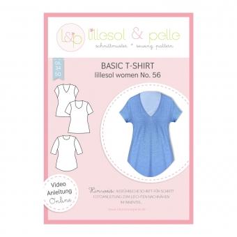 LILLESOL Women Papierschnittmuster No. 56 Basic T-Shirt