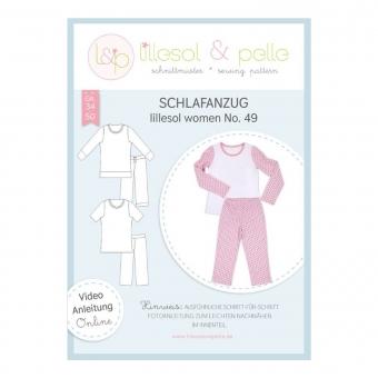 LILLESOL Women Papierschnittmuster No. 49 Schlafanzug