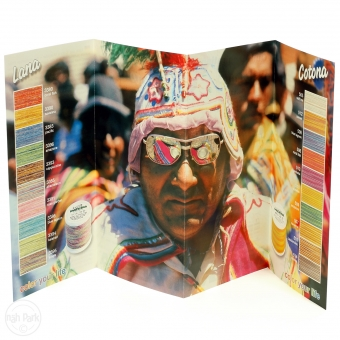 MADEIRA Farbkarte Druck Lana/Cotona Multicolor