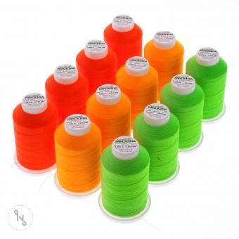 MADEIRA Overlockbox - Farbsortierung Neon