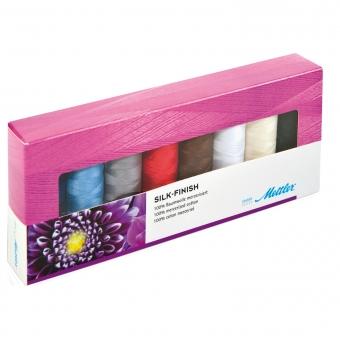 METTLER Farbkit Silk Finish Cotton 50 8 Spulen 150m
