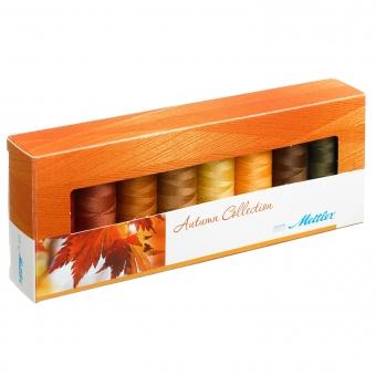 METTLER Farbkit Silk Finish Cotton Autumm 8 Spulen 150m