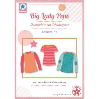 MIALUNA Papierschnittmuster Shirt Big Lady Pepe