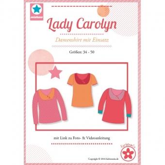 MIALUNA  Papierschnittmuster Shirt Lady Carolyn