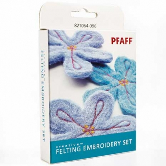 PFAFF Creative Stickset für Filzeffekte