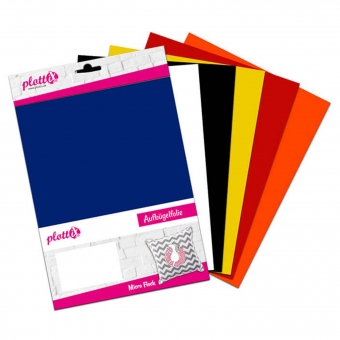 PLOTTIX MicroFlock 30 cm x 30 cm Bundle mit 6 Farben