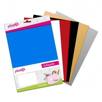 PLOTTIX PremiumFlex 30 cm x 30 cm Bundle mit 6 Farben