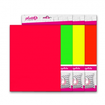 PLOTTIX PremiumFlock Neon 30 cm x 30 cm