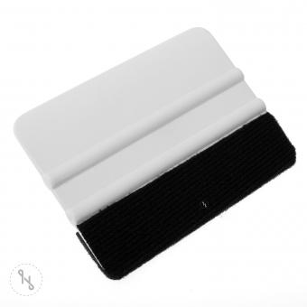 PLOTTIX Rakel mit Filzkante weiß