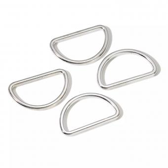 PRYM D-Ring 30mm silber 4 St.
