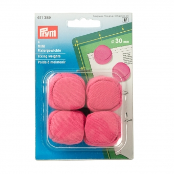 PRYM Fixiergewichte Mini 30mm pink