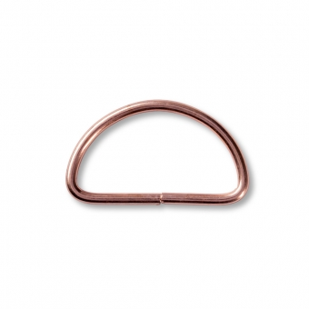 PRYM Halbrundringe 40 mm roségold