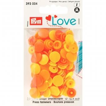 PRYM Love Color Snaps gelb