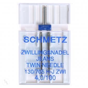 SCHMETZ Zwillingsnadel Jeans St. 100 4mm